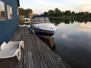 Boat and slip available