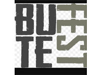 1 x Adult Butefest weekend ticket (3 available)