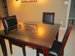 Dining or Games table and 4 chairs