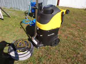 2 commercial carpet cleaning machines