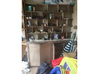 Variety of shelving,benches,need gone by weekend