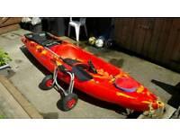 Riber 3.2m sit on top kayak