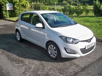 Hyundai I20 1.2 ACTIVE FULL SERVICE HISTORY BLUETOOTH AND AIR CONDITIONING (white) 2013
