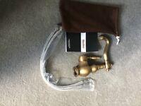 Brass kitchen single tap brand new