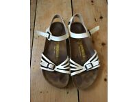 Birkenstock - White, Size 38 - Used but in very good condition