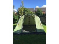 Vango Icarus 500 five berth tent with lots of extras all in great condition