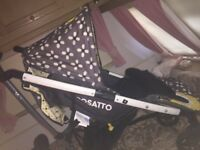 Cosatto pram and car seat please read
