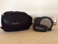 Sony DVD Handycam (Model DCR-DVD405) & Carrycase