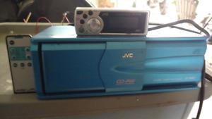 JVC 12 pack cd player/changer