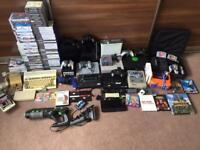 Huge retro gaming joblot, Nintendo, sega, PlayStation, Xbox