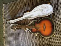 Ibanez AEG10E-VS Cutaway Vintage Sunburst Electro-Acoustic Guitar for sale