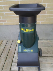 Yardworks Electric Garden Shredder