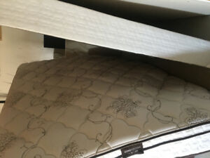 King Size Mattress and Box Spring