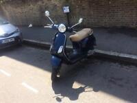 2009 59 Vespa lx 125cc blue 1 years mot £1395ono no faults