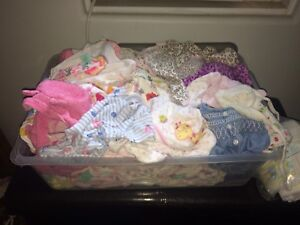 Clothes and diapers