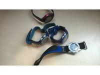 4 watches (3 need repairing)