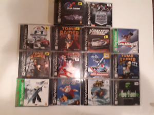 PlayStation One PS1 Games!