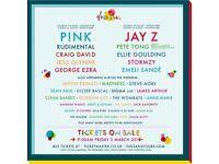 2 x weekend tickets vfestival weston park