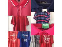 Job lot of men's 3xl T-Shirts x4 & Polo Shirts x3