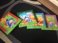 4 Winnie the pooh canvas's