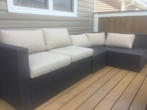 Outdoor Patio Sectional Couch purchased thru Wayfair