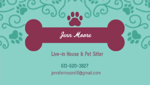 In Home House & Pet Sitter