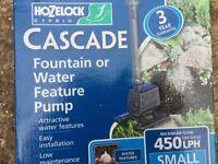 Small Garden Water Pump....Cascade Fountain