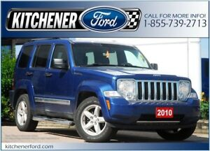 2010 Jeep Liberty Limited Edition 4WD/LEATHER/ROOF/HTD SEATS/...
