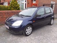 FORD FIESTA 1.3 EXC CONDITION LONG MOT