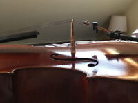 Jay Haide L'Ancienne Cello with W.Ernst Bow and Bam Hightech Carbon Case