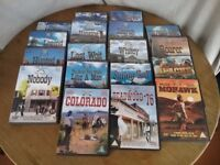 Classic Cowboy Collection DVD Set of 18