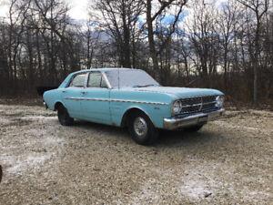 All original 1967 ford falcon futura with 3500$ in new parts!