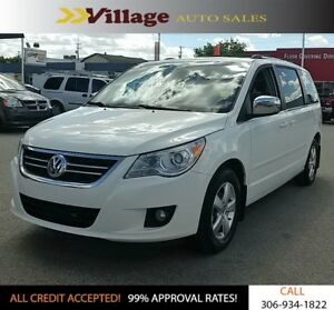 2009 Volkswagen Routan Execline Dual DVD Players, Leather Int...
