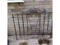 Pair of Metal garden gates