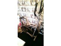 Exercise bike/ Cross trainer 2in1.