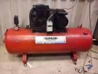 sip air compressor 200l