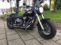 Harley Davidson fat boy softail slim bobber 2014