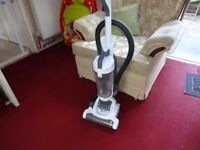 white hoover with swivel head goes all angles working order