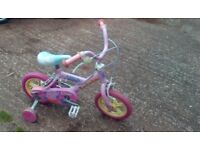 for sale bike for girls 2-3 year's old.