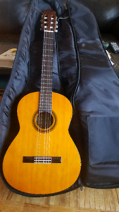 Classical Guitar and Carrying Case