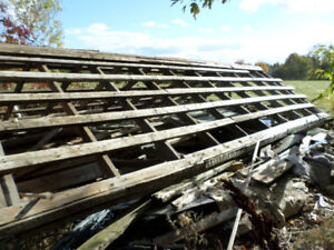 Barn Rafters and Timbers