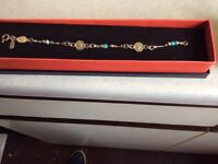 Silver 925 opal bracelet hallmarkt