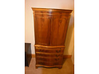 Antique wine cabinet for sale