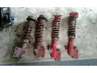 Subaru impreza wrx coilovers new age 2001 on