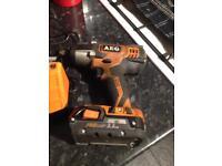 Half inch impact gun