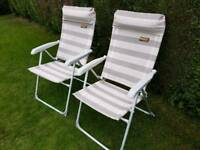 PAIR OF CAMPING CHAIRS 'Sandringham Elite' by Quest