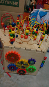 6 sided bead toy