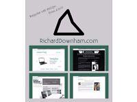 Bespoke web design from £300 - website design, web management, unique websites designed from scratch