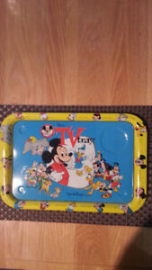 Disney and Mickey Mouse TV Serving Tray Circa 1954-55