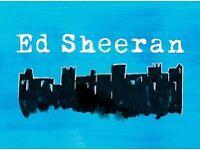 Ed Sheeran - Etihad stadium - May 26th 2018 - Standing tickets